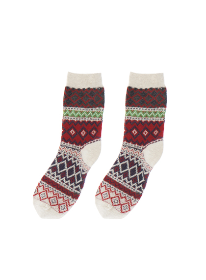 Aztec Pattern Socks