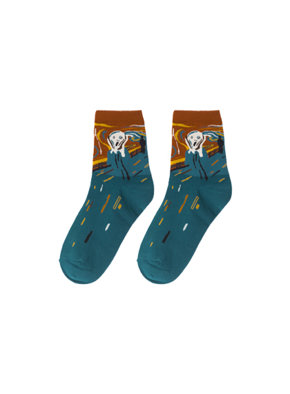 Iconic Art Print Socks