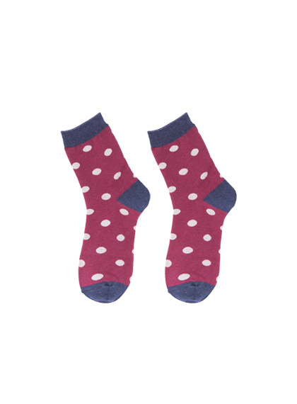 Polka Dot Ankle Socks