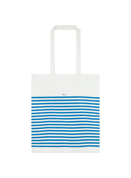 Stripe Print Eco Bag