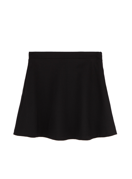Flared A-Line Mini Skirt
