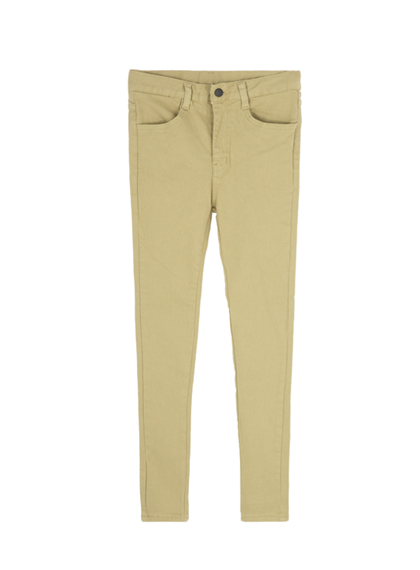 Basic Colored Skinny Fit Pants
