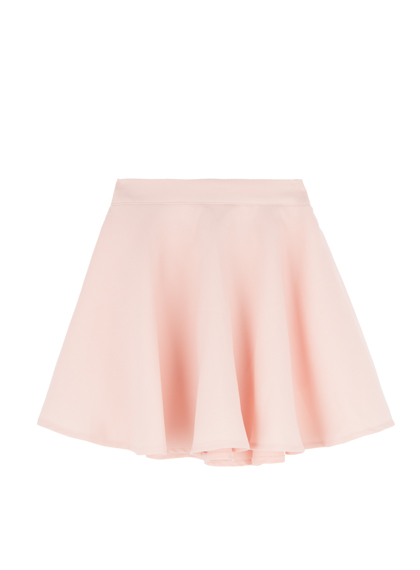Chiffon Flared Mini Skirt