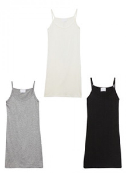 Solid Tone Camisole Dress
