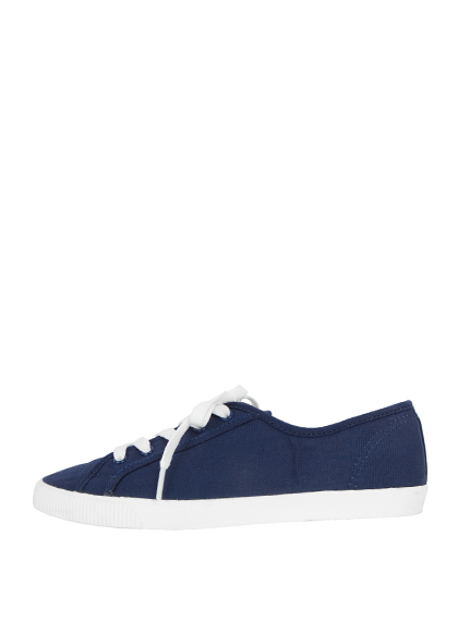 Lace-Up Low Cut Sneakers
