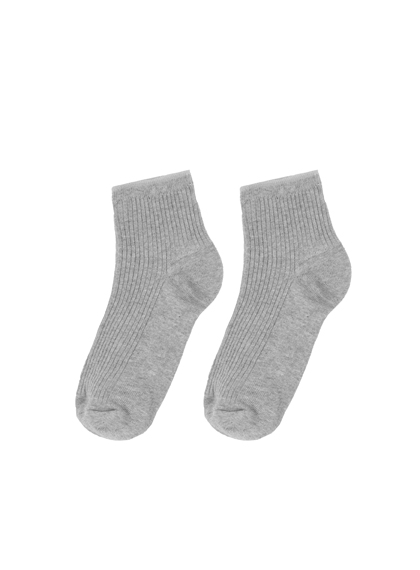 Essential Ribbed Ankle Socks