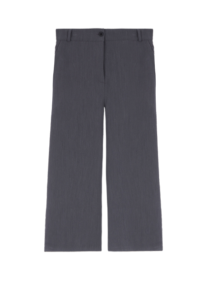 Flared Cropped Slacks