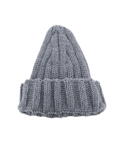 Basic Fold-Over Knit Beanie
