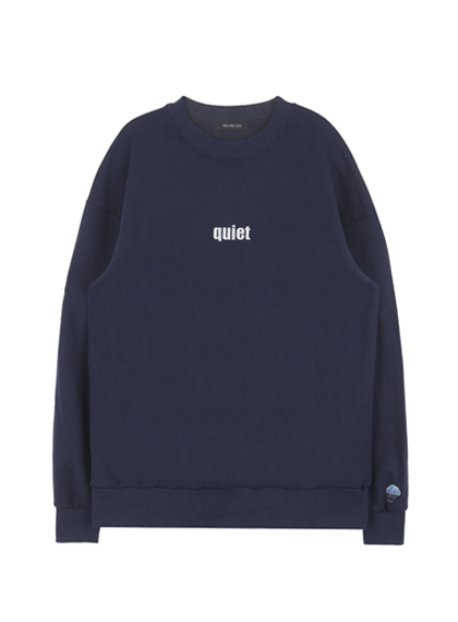 HIDE AND SEEKEmbroidered Accent Sweatshirt