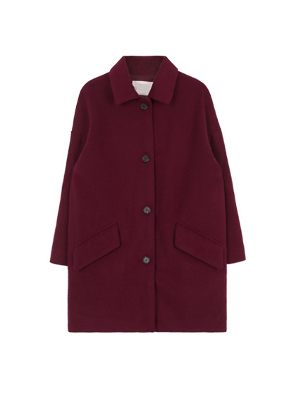 Basic Button-Down Coat