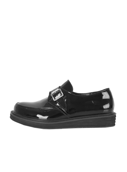 Glossy Monk Shoes