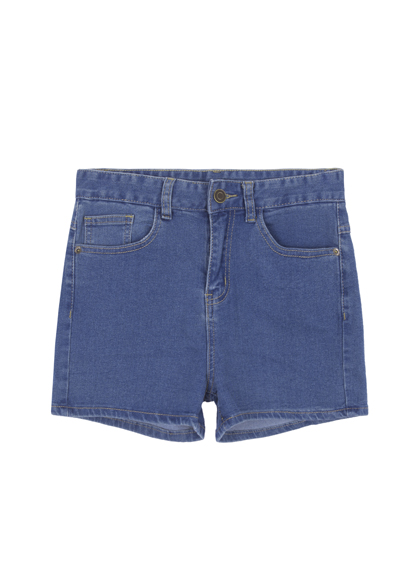 Standard High Waist Denim Shorts