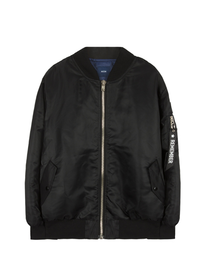 MXMPatch Detail Zip-Up Blouson