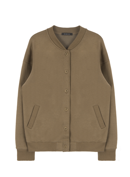 HIDE AND SEEKBasic Button-Down Jacket