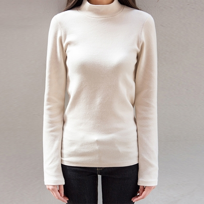 365BASICEssential High Neck Top