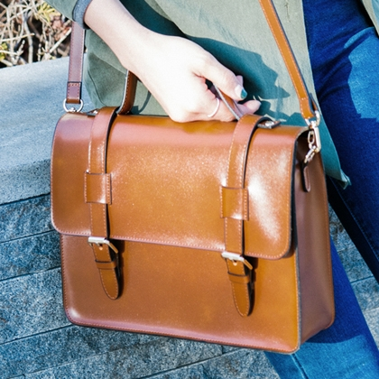Two-Way Carry Satchel Bag