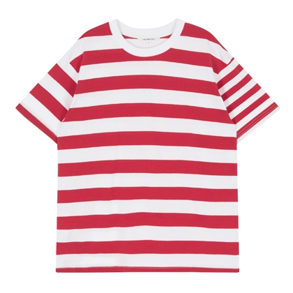 HIDE AND SEEKHorizontal Stripe Patterned T-Shirt