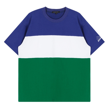 HIDE AND SEEKSPARKLE Print Color Blocked T-Shirt