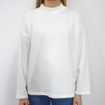 BAUHAUSMock Neck Loose Fit Top