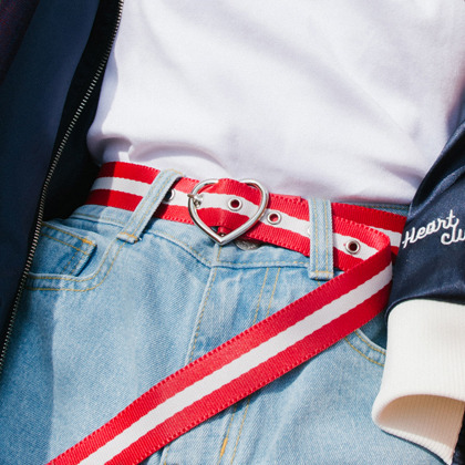 HEART CLUBHeart Buckle Belt