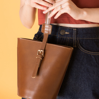 Two-Way Bucket Bag