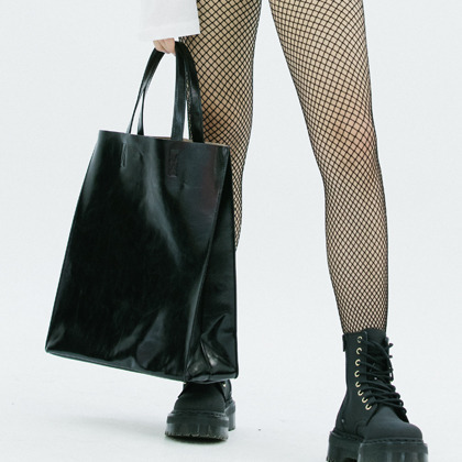 Basic Black Tote Bag