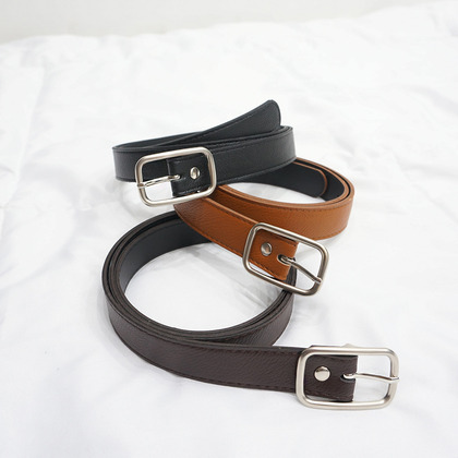 Plain Buckled Belt