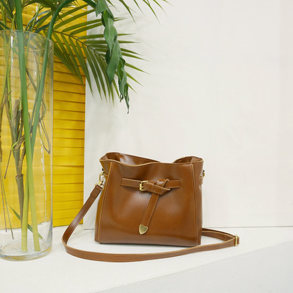 Knotted Front Strap Crossbody Bag