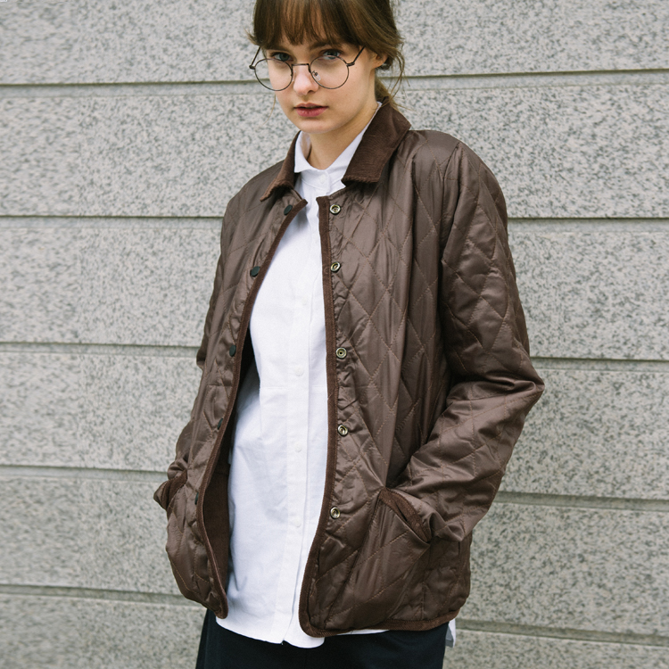 Reversible Snap-Fastened Jacket