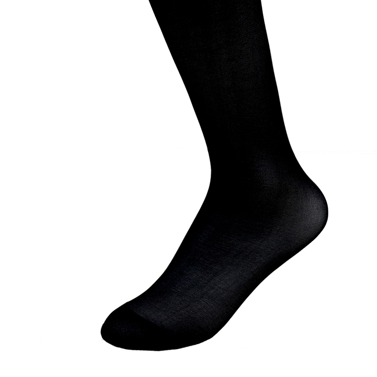 Black Elastic Waist Stockings