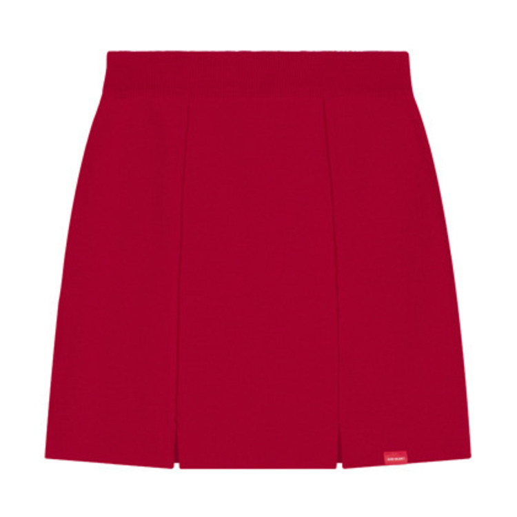 HEART CLUBSlit Accented Mini Skirt