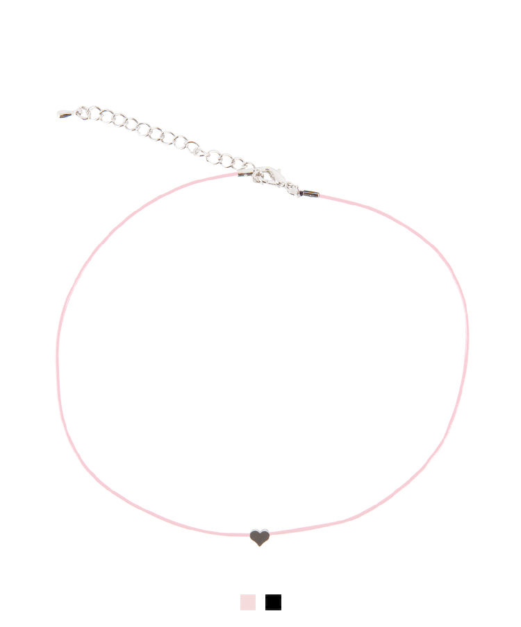 Mini Heart Pendant Choker