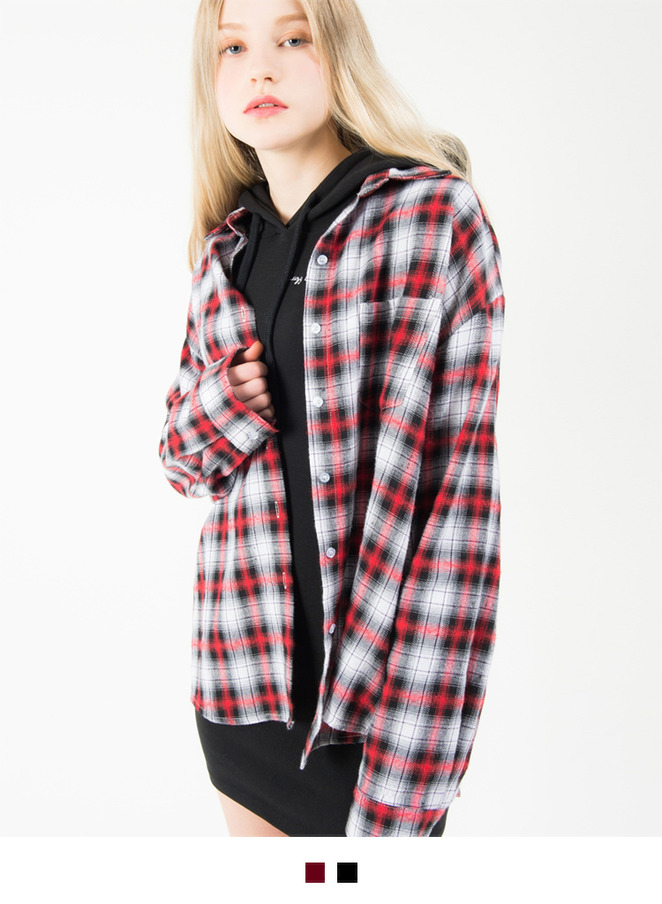 Tartan Check Button-Down Shirt