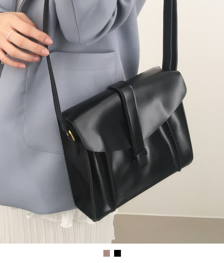 Envelope Front Flap Crossbody Bag