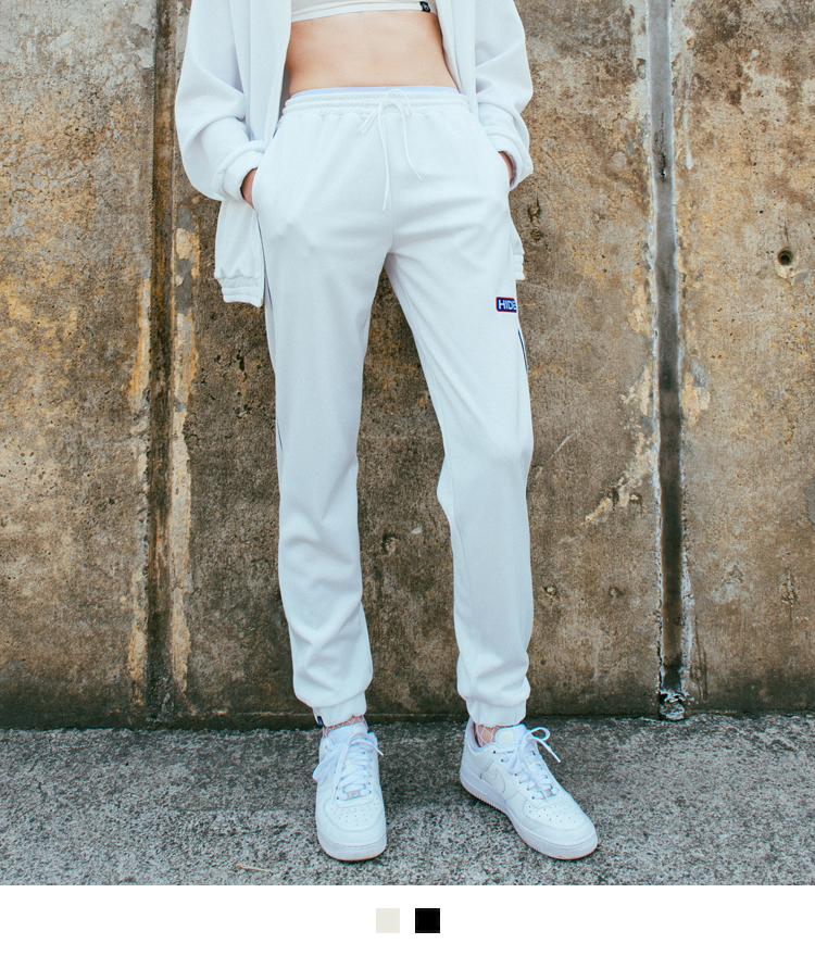 Piping Trim Jogging Pants