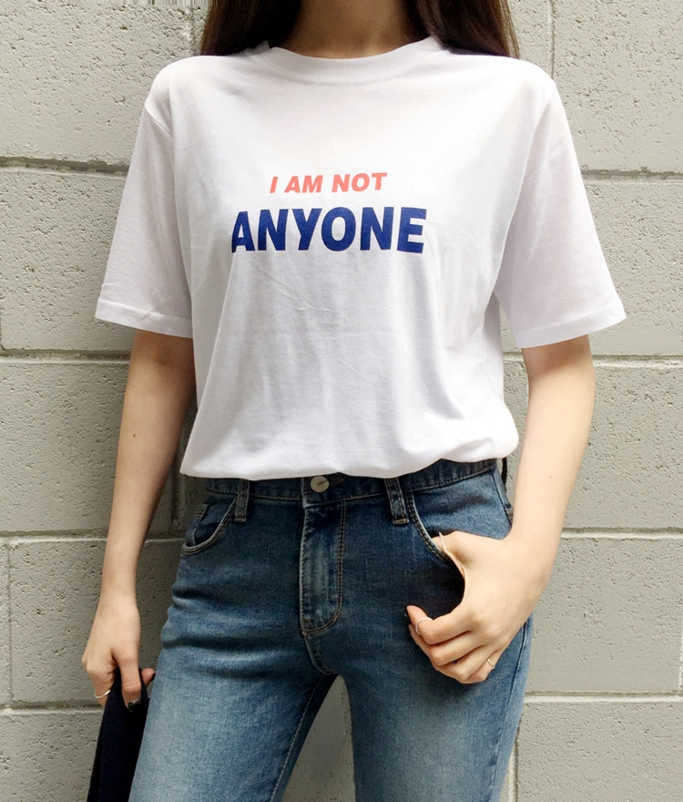 I AM NOT ANYONE T-Shirt