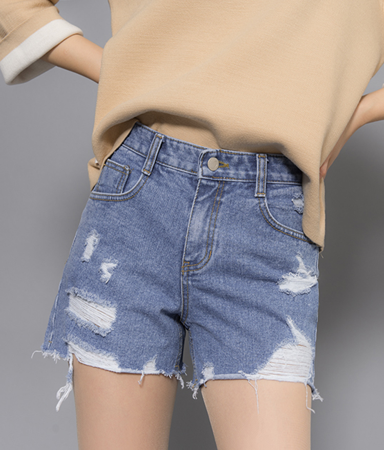 Distressed Cutoff Shorts