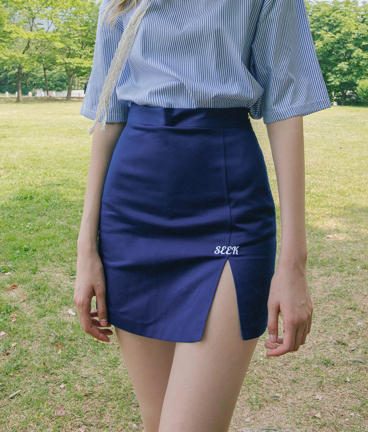 SEEK Slit Detail Mini Skort