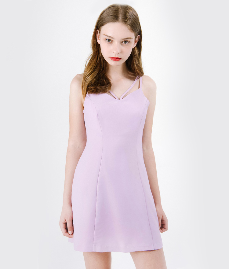 Double Strap Camisole Dress