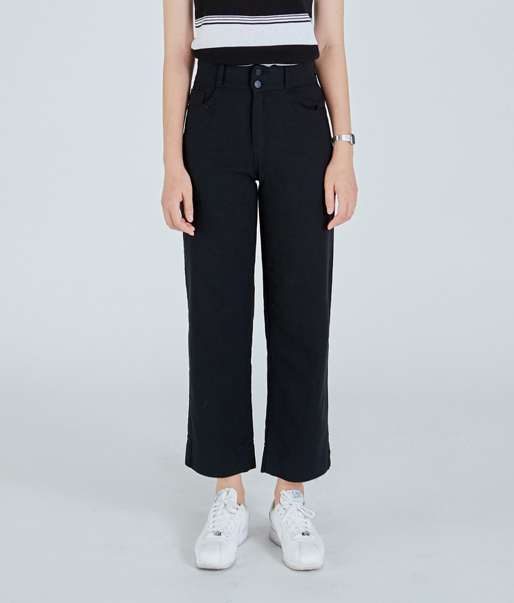 ESSAYTwo-Button Straight Leg Pants