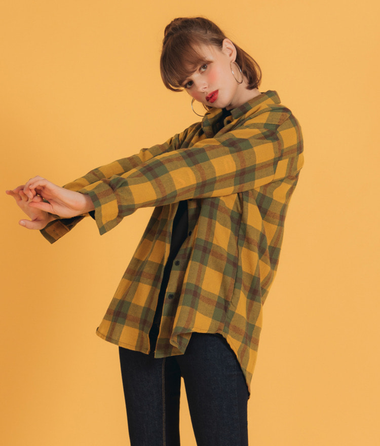 NEVERM!NDChest Pocket Check Shirt