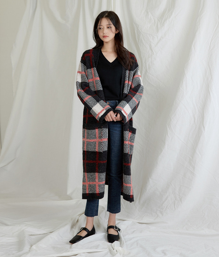 ESSAYCheck Long Cardigan