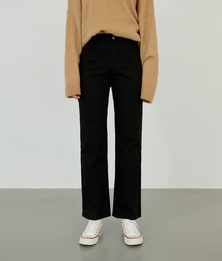 ESSAYCotton Straight Cut Pants