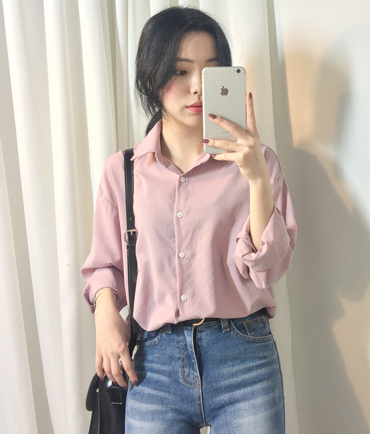 ESSAYLoose Fit Sheer Shirt