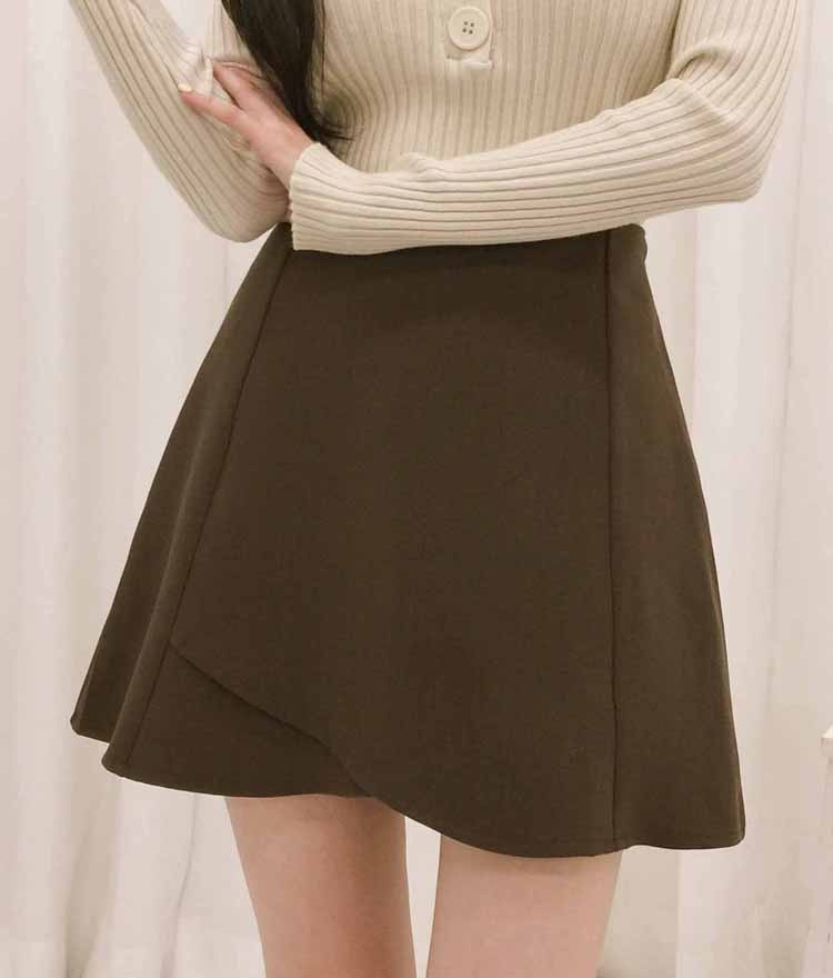 ROMANTIC MUSEA-Line Tulip Skirt