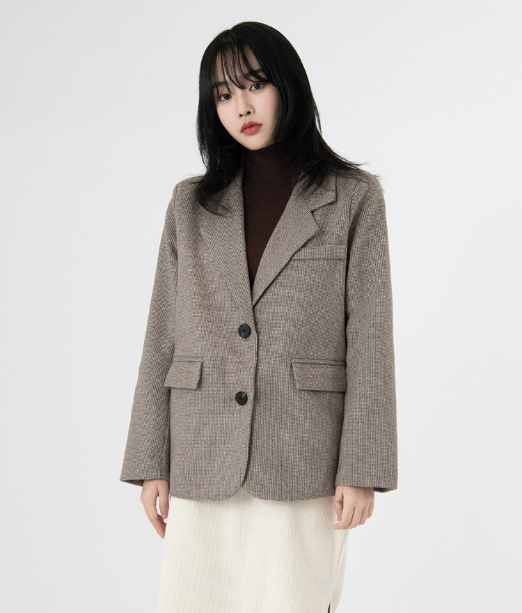 ESSAYWoolen Two-Button Jacket