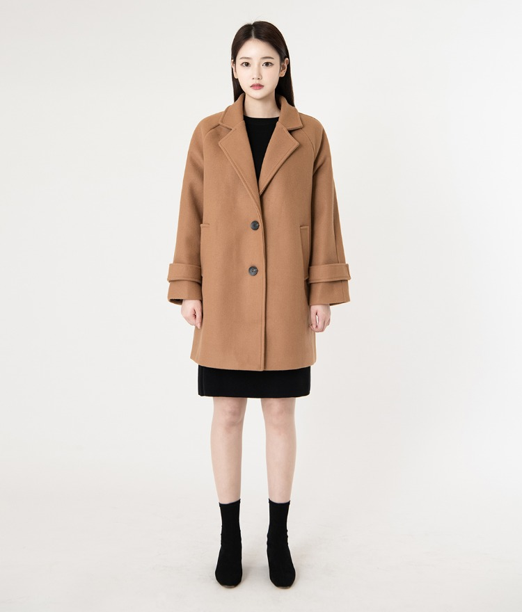 ROMANTIC MUSEShort Woolen Coat