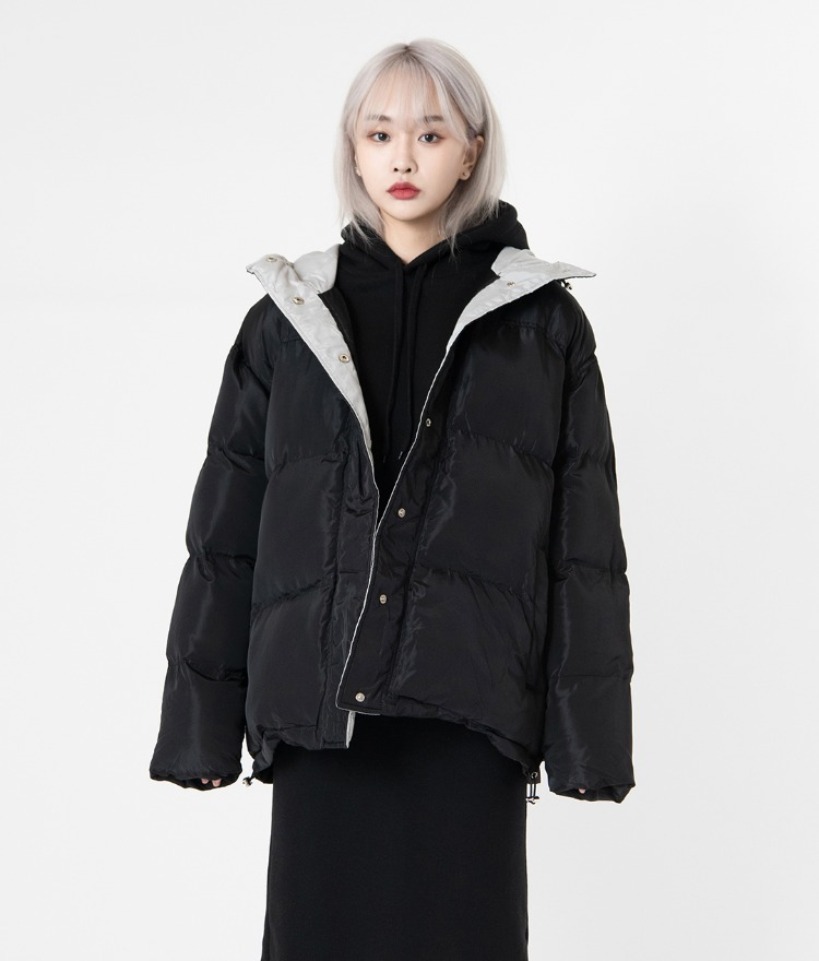 NEVERM!NDHooded Puffer Jacket