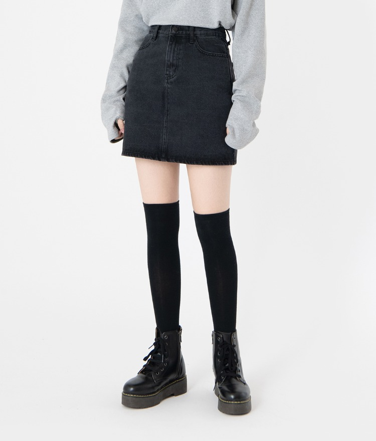 NEVERM!NDMini Denim Skirt