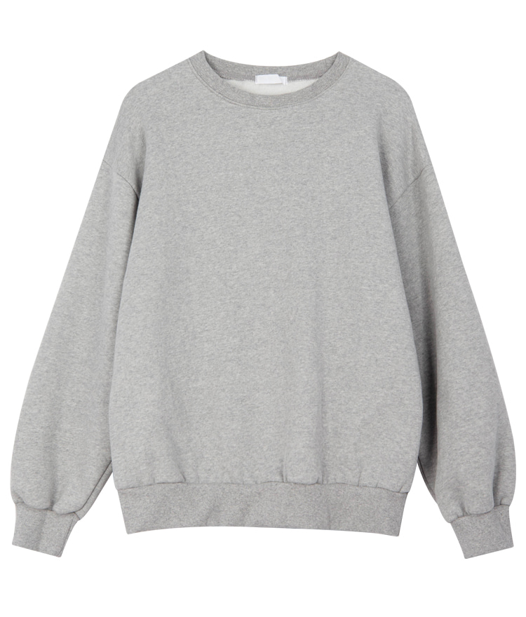 QUIETLABBasic Fleece-Lined Sweatshirt